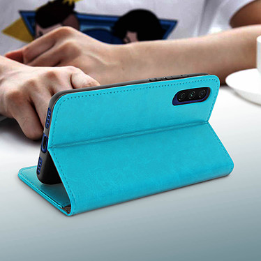 Avis Avizar Etui folio Turquoise pour Xiaomi Mi A3