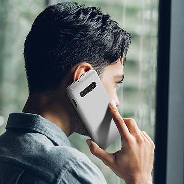Acheter Avizar Etui folio Argent pour Samsung Galaxy S10 Plus
