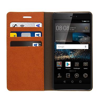 Acheter Avizar Etui folio Marron pour Huawei P8
