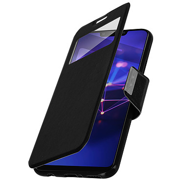 Avizar Etui folio Noir pour Huawei Mate 20 lite pas cher