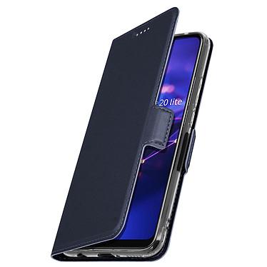 Avizar Etui folio Bleu Nuit pour Huawei Mate 20 lite pas cher