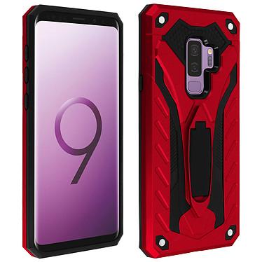 Avizar Coque Rouge Hybride pour Samsung Galaxy S9 Plus Coque Rouge hybride Samsung Galaxy S9 Plus