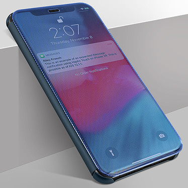Avizar Etui folio Bleu pour Apple iPhone 11 pas cher