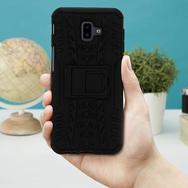 Acheter Avizar Coque Noir Hyrbide pour Samsung Galaxy J6 Plus