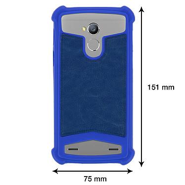 Acheter Avizar Coque Bleu pour Smartphones de 5.0' à 5.3'