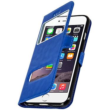 Avizar Etui folio Bleu pour Apple iPhone 6 , Apple iPhone 6S pas cher