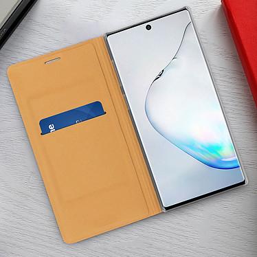 Acheter Avizar Etui folio Dorée pour Samsung Galaxy Note 10