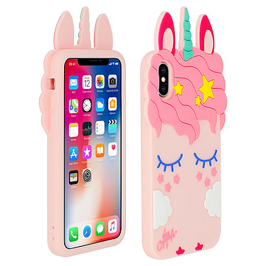 Avizar Coque Rose pour Apple iPhone X , Apple iPhone XS Coque Rose Apple iPhone X , Apple iPhone XS