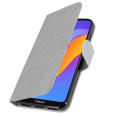 Avizar Etui folio Gris pour Huawei Y6 2019 , Honor 8A pas cher