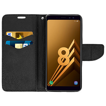 Avis Avizar Etui folio Noir pour Samsung Galaxy A8