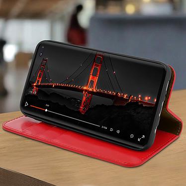Avis Avizar Etui folio Rouge pour Samsung Galaxy S10 Plus