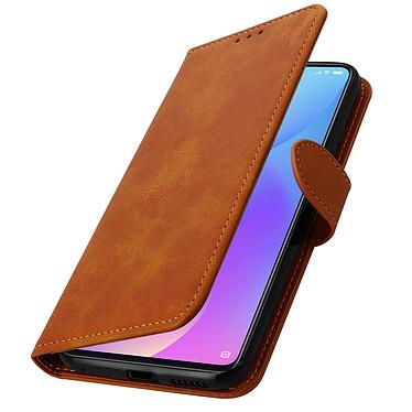 Avizar Etui folio Camel Éco-cuir pour Xiaomi Mi 9T , Xiaomi Mi 9T Pro pas cher