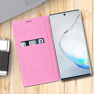 Acheter Avizar Etui folio Rose pour Samsung Galaxy Note 10 Plus