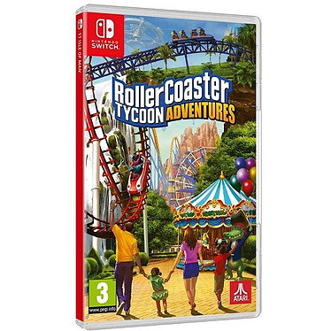 Rollercoaster Tycoon Adventures (SWITCH) Jeu SWITCH Action-Aventure 3 ans et plus