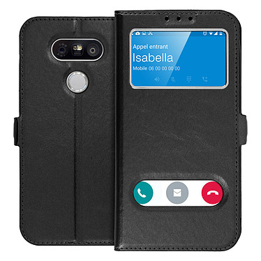 Avizar Etui folio Noir pour LG G5 pas cher