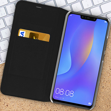 Acheter Avizar Etui folio Noir pour Huawei P Smart Plus