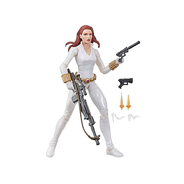 Marvel Legends Series - Figurine Black Widow White Suit Deadly Origin 15 cm Figurine Marvel Legends Series, modèle Black Widow White Suit Deadly Origin 15 cm.