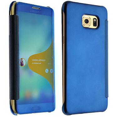 Avizar Etui folio Bleu pour Samsung Galaxy S6 Edge Plus Etui folio Bleu Samsung Galaxy S6 Edge Plus