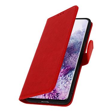 Avizar Etui folio Rouge pour Samsung Galaxy S20 Ultra pas cher