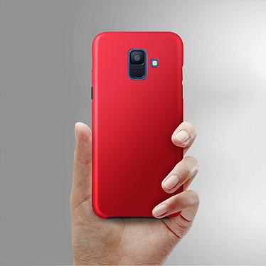 Avis Avizar Coque Rouge pour Samsung Galaxy A6