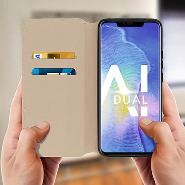 Acheter Avizar Etui folio Dorée pour Huawei Mate 20 Pro