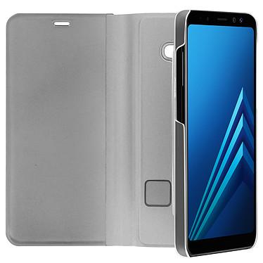 Avis Avizar Etui folio Argent pour Samsung Galaxy A8
