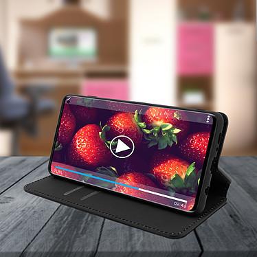 Avis Avizar Etui folio Noir Éco-cuir pour Samsung Galaxy S10