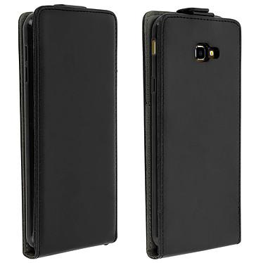 Avizar Etui à clapet Noir pour Samsung Galaxy J4 Plus Etui à clapet Noir Samsung Galaxy J4 Plus