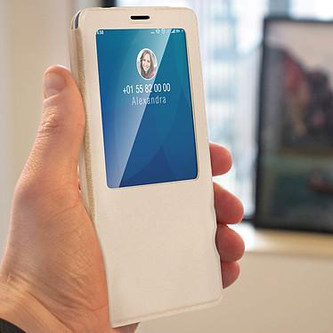 Avis Avizar Etui folio Dorée à fenêtre pour Xiaomi Redmi Note 7