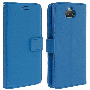 Avizar Etui folio Bleu pour Sony Xperia 10 Etui folio Bleu Sony Xperia 10