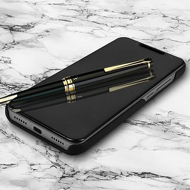 Avizar Etui folio Noir Design Miroir pour Xiaomi Redmi Note 6 Pro pas cher