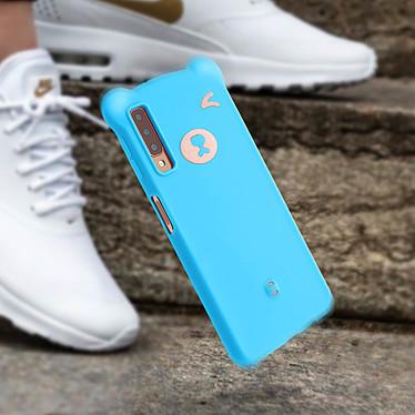 Avis Avizar Coque Bleu pour Samsung Galaxy A7 2018