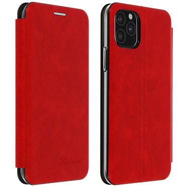 Avizar Etui folio Rouge pour Apple iPhone 11 Pro Max Etui folio Rouge Apple iPhone 11 Pro Max