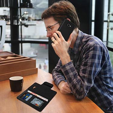 Avis Avizar Etui folio Noir pour Samsung Galaxy J4 Plus