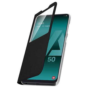 Avizar Etui folio Noir pour Samsung Galaxy A50 , Samsung Galaxy A30s pas cher