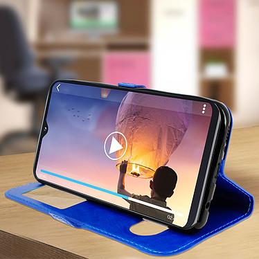Acheter Avizar Etui folio Bleu pour Samsung Galaxy A20e