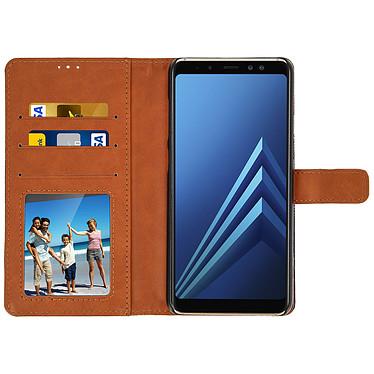 Avis Avizar Etui folio Bleu pour Samsung Galaxy A8