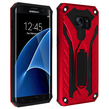 Avizar Coque Rouge pour Samsung Galaxy S7 Edge Coque Rouge Samsung Galaxy S7 Edge