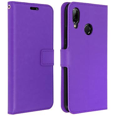 Avizar Etui folio Violet pour Huawei P20 Lite Etui folio Violet Huawei P20 Lite