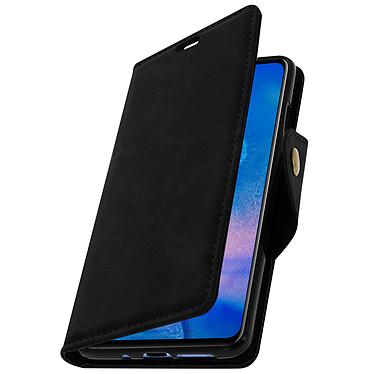 Avizar Etui folio Noir Éco-cuir pour Huawei Mate 20 pas cher