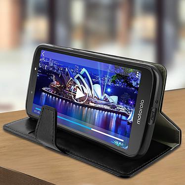 Avis Avizar Etui folio Noir pour Motorola Moto E5 Play