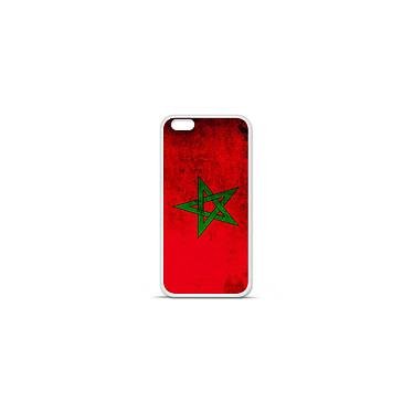 1001 Coques Coque silicone gel Apple IPhone 7 Plus motif Drapeau Maroc Coque silicone gel Apple IPhone 7 Plus motif Drapeau Maroc