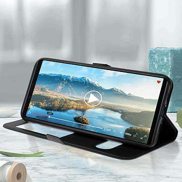 Acheter Avizar Etui folio Noir pour Sony Xperia 10 Plus