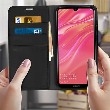 Acheter Avizar Etui folio Noir pour Huawei Y7 2019