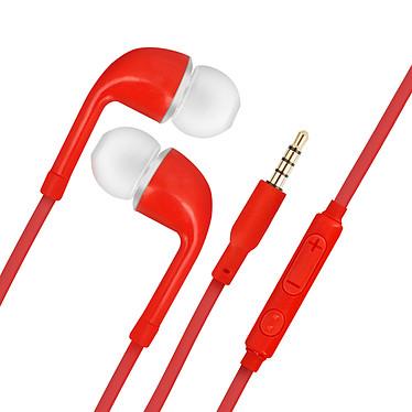 Avizar Ecouteurs Rouge pour Tous les appareils munis d'un port Jack 3.5 mm pas cher