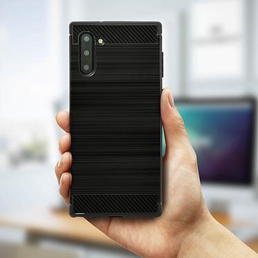 Avis Avizar Coque Noir Carbone pour Samsung Galaxy Note 10