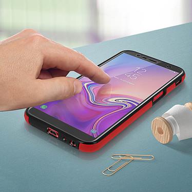 Acheter Avizar Coque Rouge pour Samsung Galaxy J6 Plus
