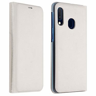 Avizar Etui folio Blanc pour Samsung Galaxy A20e Etui folio Blanc Samsung Galaxy A20e