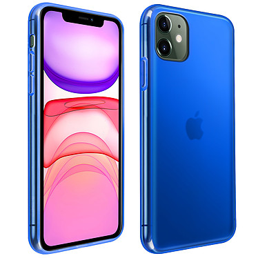 Avizar Coque Bleu pour Apple iPhone 11 Coque Bleu Apple iPhone 11