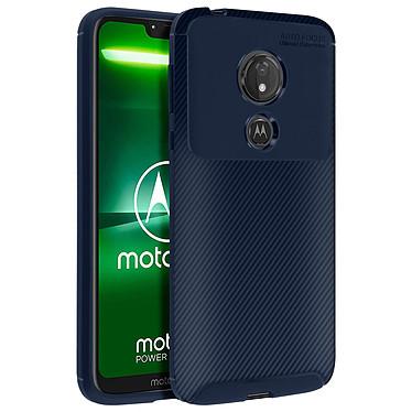 Avizar Coque Bleu Nuit pour Motorola Moto G7 Power pas cher